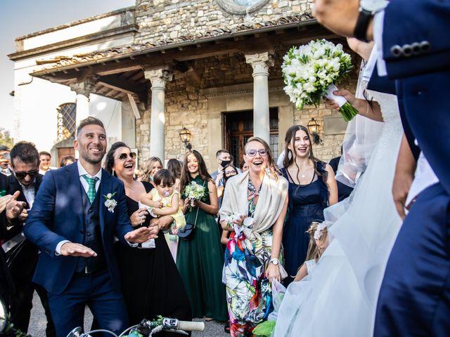 Il matrimonio di Sara e Riccardo a Reggello, Firenze 92