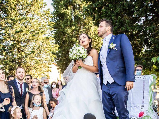 Il matrimonio di Sara e Riccardo a Reggello, Firenze 93