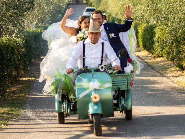 Il matrimonio di Sara e Riccardo a Reggello, Firenze 96