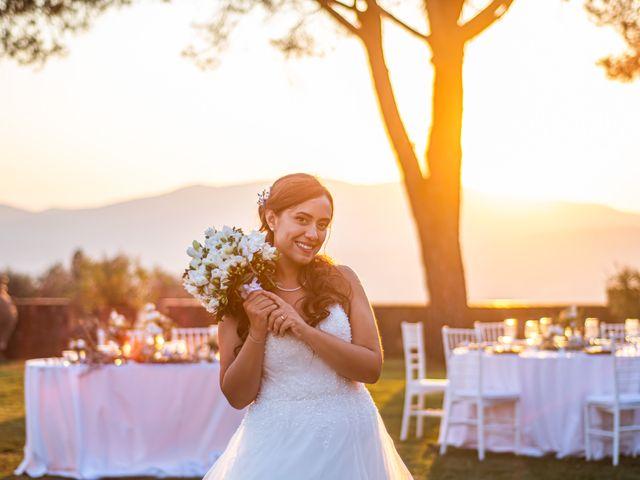 Il matrimonio di Sara e Riccardo a Reggello, Firenze 110