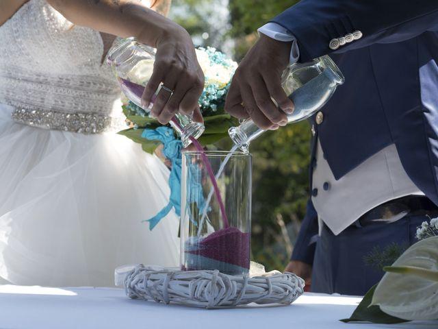 Il matrimonio di Christian e Denise a Erbusco, Brescia 1
