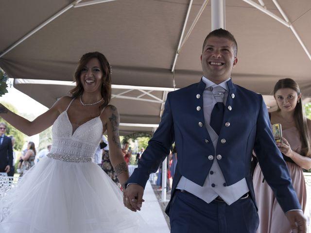 Il matrimonio di Christian e Denise a Erbusco, Brescia 31