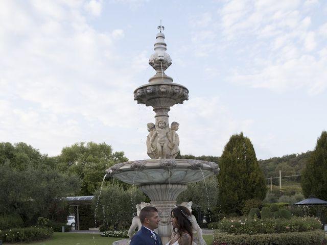 Il matrimonio di Christian e Denise a Erbusco, Brescia 43