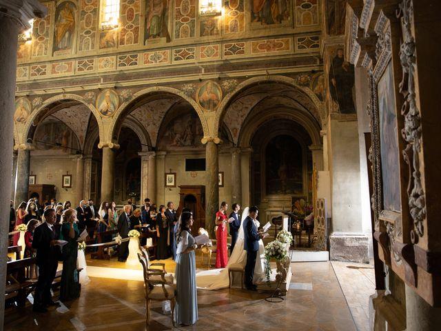 Il matrimonio di Massimo e Claudia a Fara in Sabina, Rieti 26