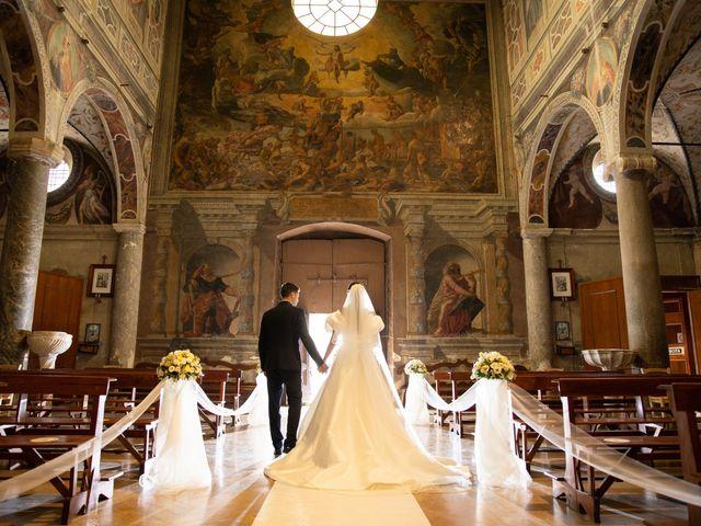 Il matrimonio di Massimo e Claudia a Fara in Sabina, Rieti 34