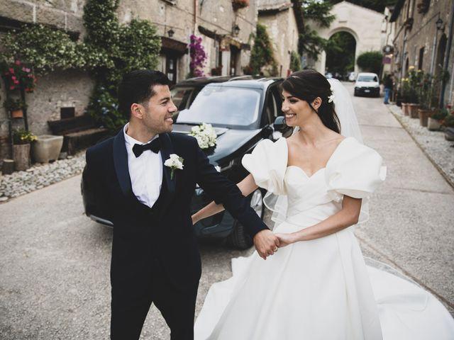Il matrimonio di Massimo e Claudia a Fara in Sabina, Rieti 43