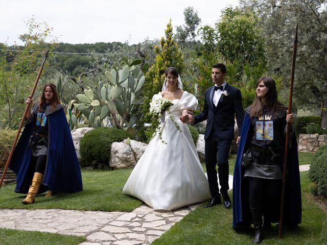 Il matrimonio di Massimo e Claudia a Fara in Sabina, Rieti 45