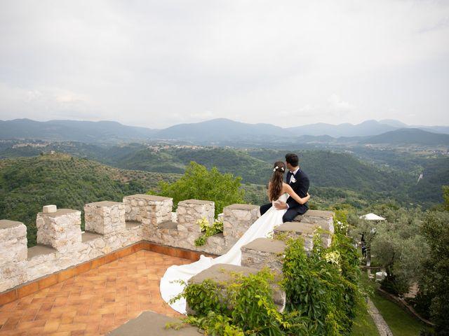 Il matrimonio di Massimo e Claudia a Fara in Sabina, Rieti 48