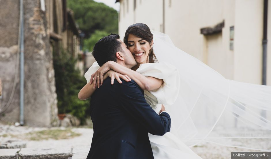 Il matrimonio di Massimo e Claudia a Fara in Sabina, Rieti