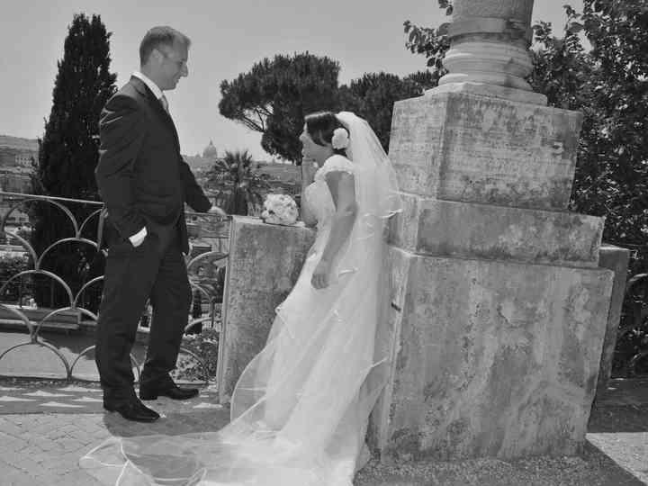 le nozze di Nancy e Stefano