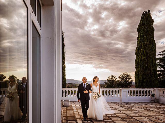 Il matrimonio di Silvia e Antonio a Bassano Romano, Viterbo 22