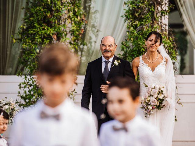 Il matrimonio di Silvia e Antonio a Bassano Romano, Viterbo 23