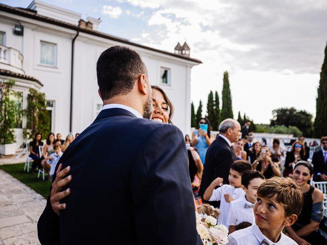 Il matrimonio di Silvia e Antonio a Bassano Romano, Viterbo 25