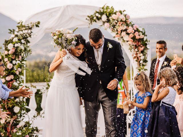 Il matrimonio di Silvia e Antonio a Bassano Romano, Viterbo 37