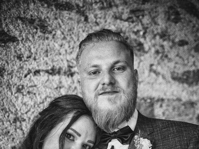 Il matrimonio di Gregory e Nadine a Luino, Varese 1