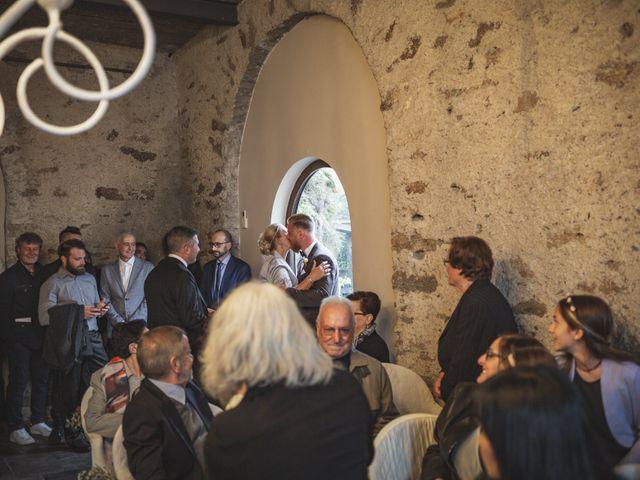 Il matrimonio di Gregory e Nadine a Luino, Varese 34