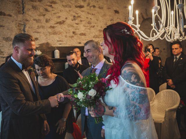 Il matrimonio di Gregory e Nadine a Luino, Varese 38