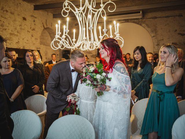 Il matrimonio di Gregory e Nadine a Luino, Varese 41
