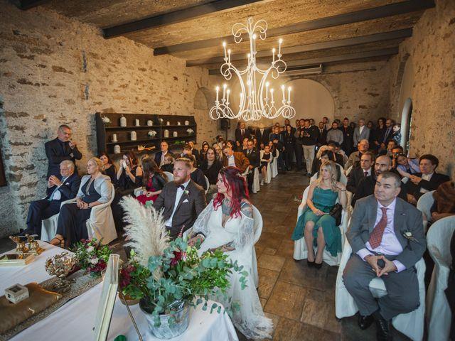 Il matrimonio di Gregory e Nadine a Luino, Varese 42