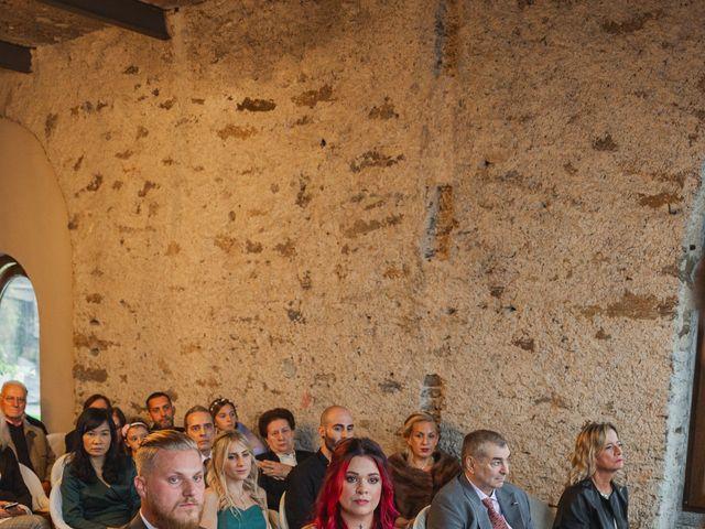 Il matrimonio di Gregory e Nadine a Luino, Varese 44