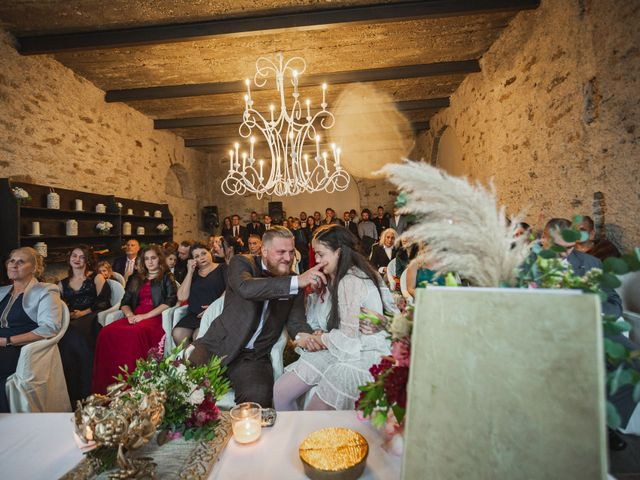 Il matrimonio di Gregory e Nadine a Luino, Varese 46