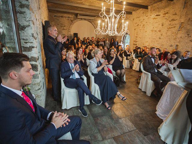 Il matrimonio di Gregory e Nadine a Luino, Varese 48