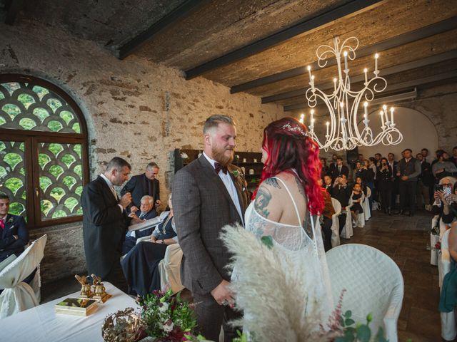 Il matrimonio di Gregory e Nadine a Luino, Varese 51