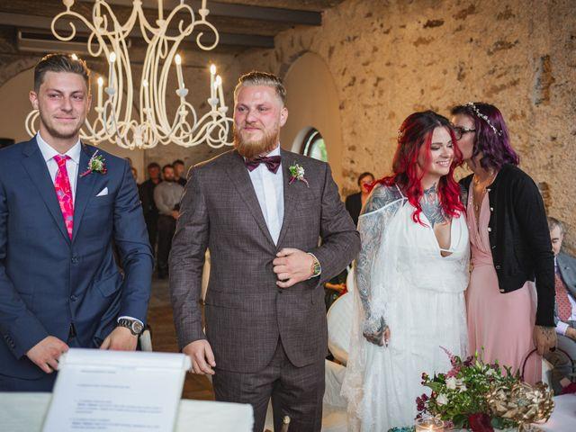 Il matrimonio di Gregory e Nadine a Luino, Varese 57
