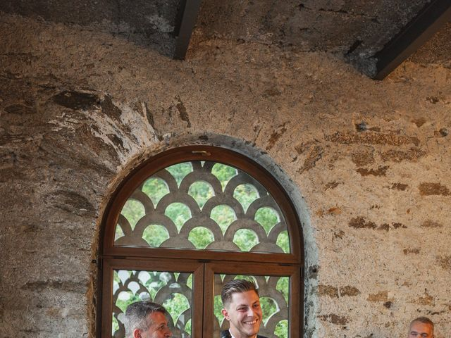 Il matrimonio di Gregory e Nadine a Luino, Varese 61