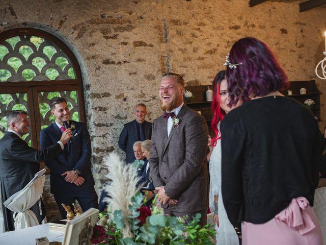 Il matrimonio di Gregory e Nadine a Luino, Varese 62