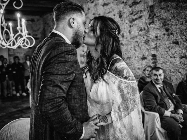 Il matrimonio di Gregory e Nadine a Luino, Varese 68