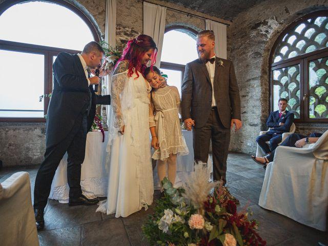 Il matrimonio di Gregory e Nadine a Luino, Varese 70
