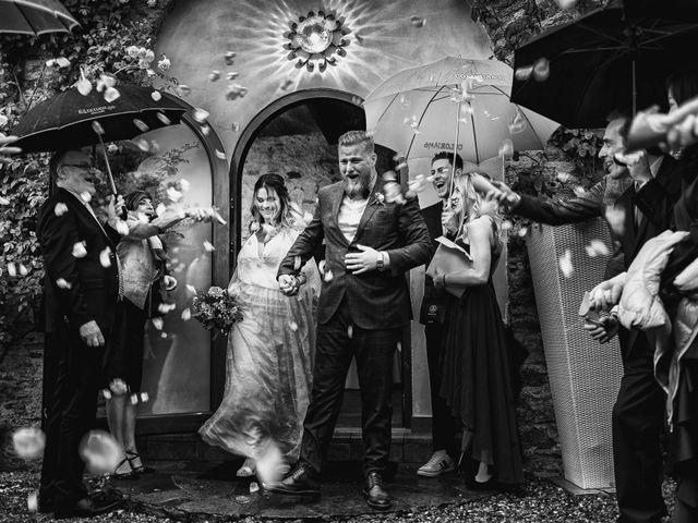 Il matrimonio di Gregory e Nadine a Luino, Varese 72