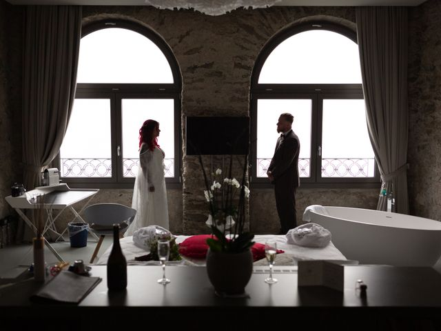 Il matrimonio di Gregory e Nadine a Luino, Varese 80