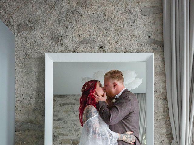 Il matrimonio di Gregory e Nadine a Luino, Varese 84
