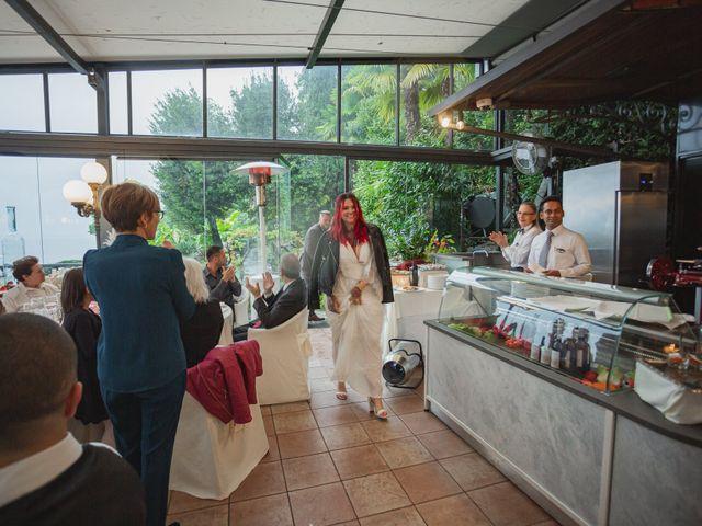 Il matrimonio di Gregory e Nadine a Luino, Varese 89