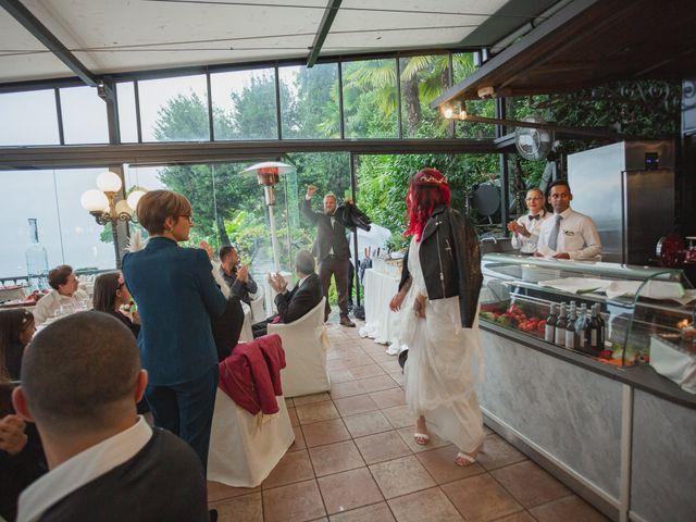 Il matrimonio di Gregory e Nadine a Luino, Varese 90