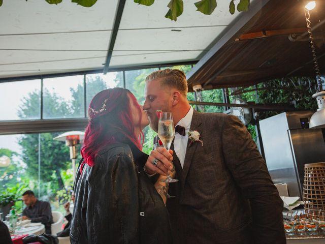 Il matrimonio di Gregory e Nadine a Luino, Varese 91