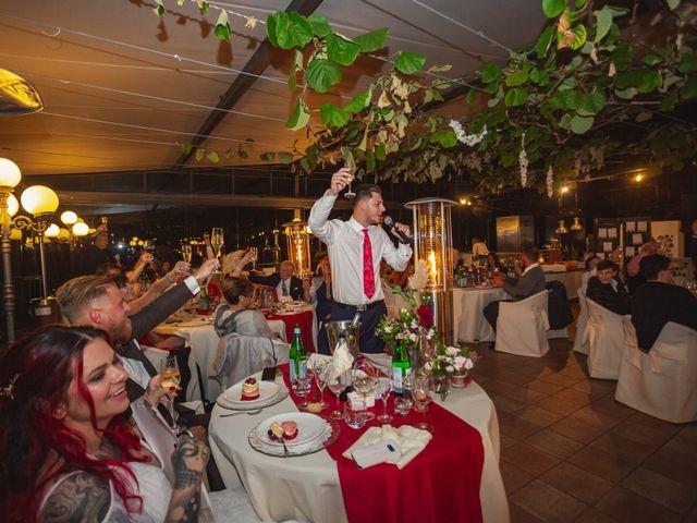 Il matrimonio di Gregory e Nadine a Luino, Varese 110