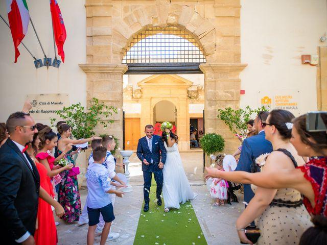 Il matrimonio di Ilenia e Andrea a Marsala, Trapani 19