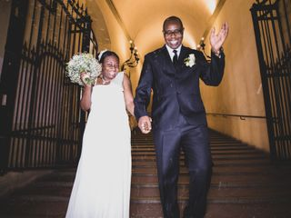 Le nozze di Gaetan e Leslie