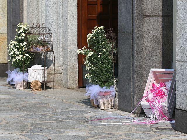 Il matrimonio di Andrea e Monica a Taino, Varese 1