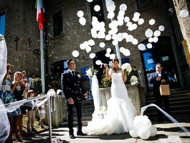 Il matrimonio di paolo e tatiana a Cornate d'Adda, Monza e Brianza 1