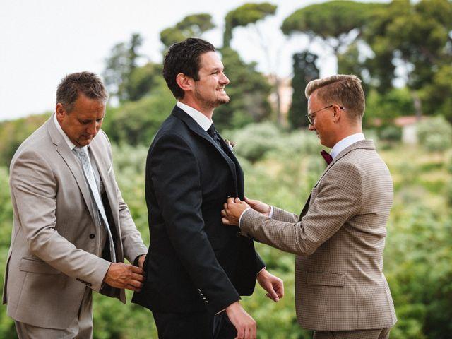 Il matrimonio di Massimiliano e Tina a Roma, Roma 3
