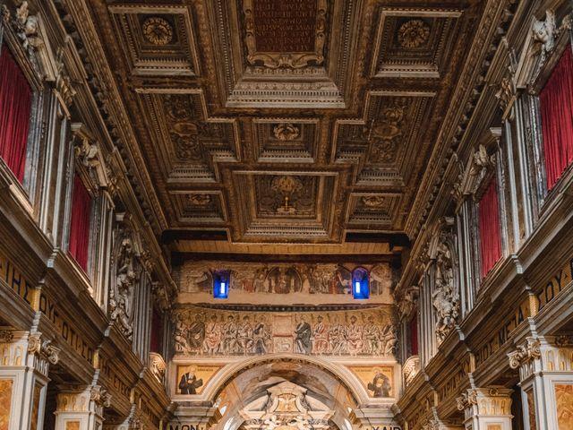 Il matrimonio di Massimiliano e Tina a Roma, Roma 25