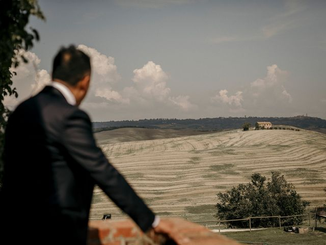 Il matrimonio di Valerio e Claudia a San Quirico d'Orcia, Siena 27