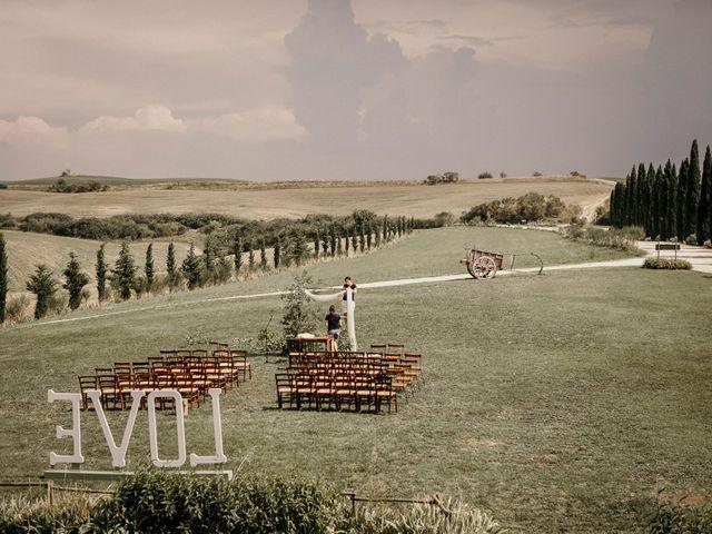 Il matrimonio di Valerio e Claudia a San Quirico d'Orcia, Siena 1