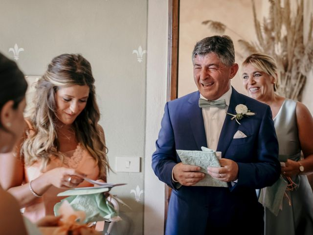 Il matrimonio di Valerio e Claudia a San Quirico d'Orcia, Siena 31