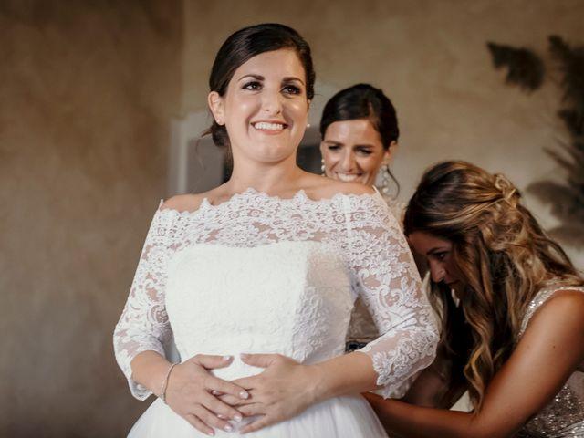 Il matrimonio di Valerio e Claudia a San Quirico d'Orcia, Siena 35