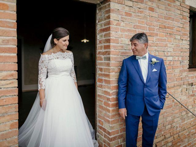 Il matrimonio di Valerio e Claudia a San Quirico d'Orcia, Siena 37